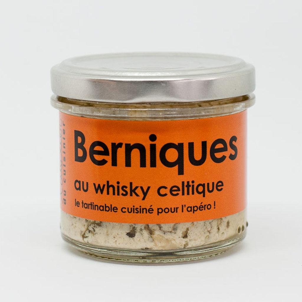 Berniques au whisky celtique 80g