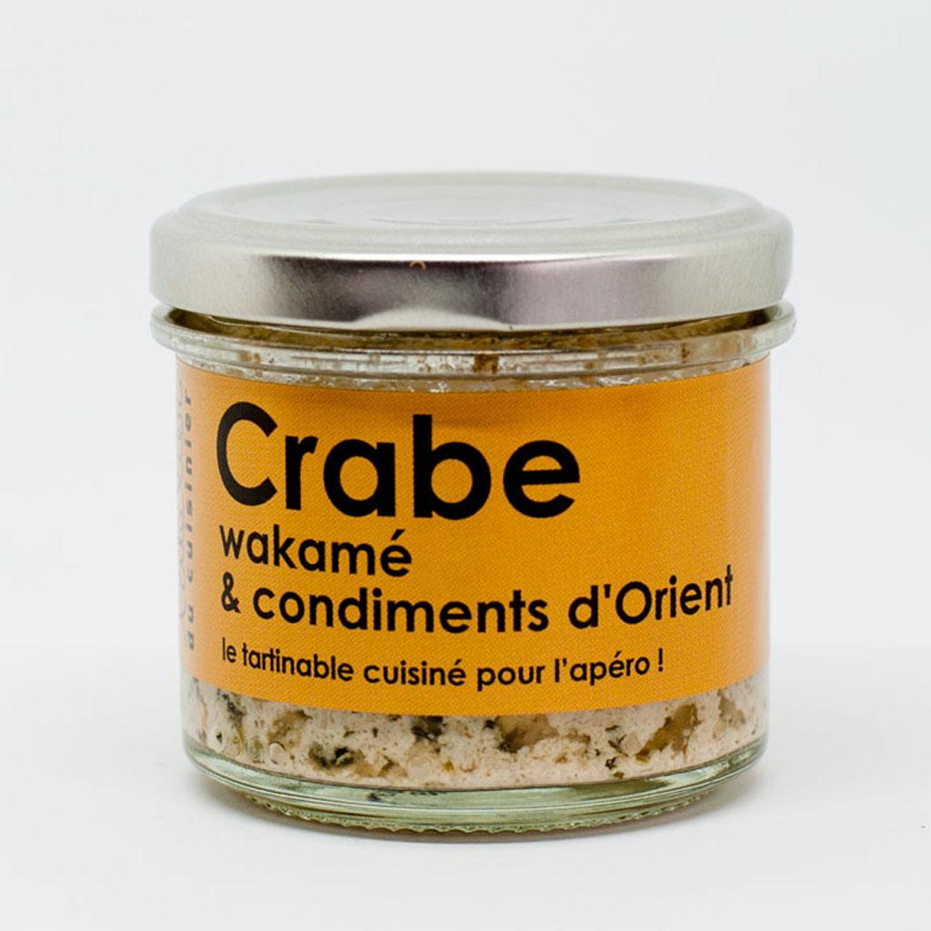 Crabe, wakamé et condiments d'Orient 80g