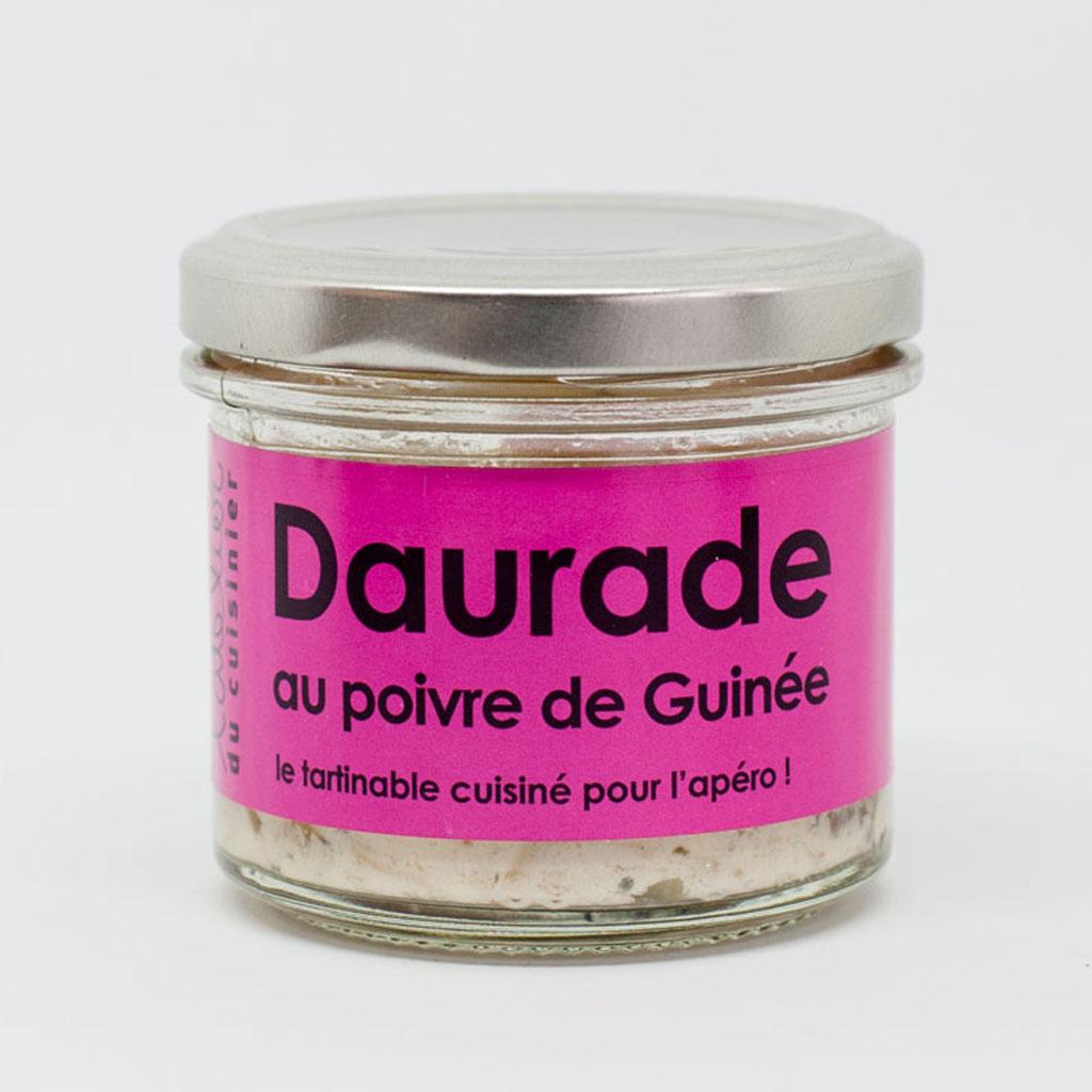 Daurade au poivre de Guinée 80g