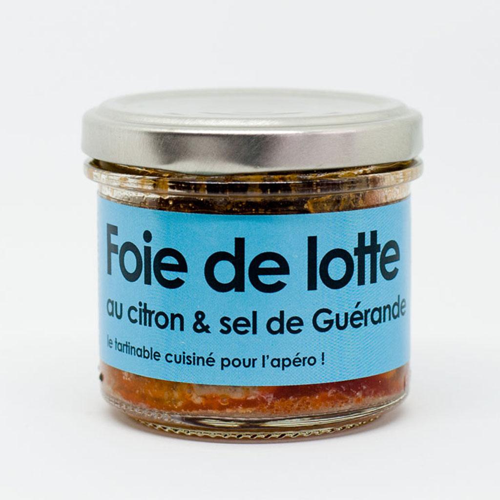 Foie de lotte au citron et sel de Guérande 80g