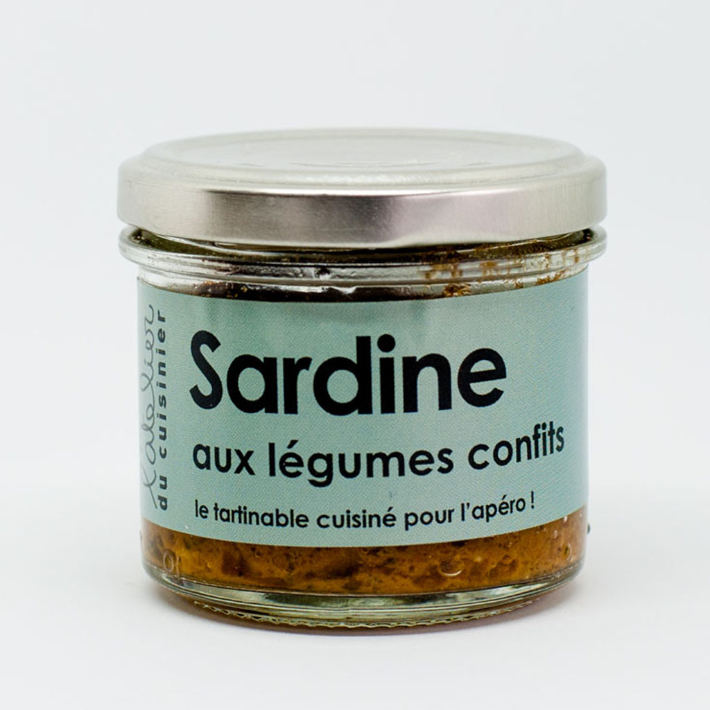 Sardines aux légumes confits 80g