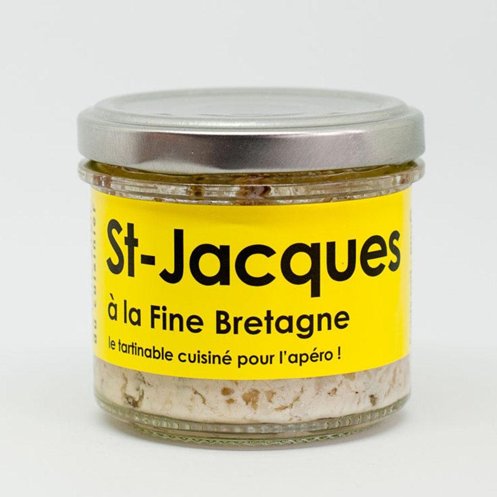 St Jacques à la fine Bretagne 80g
