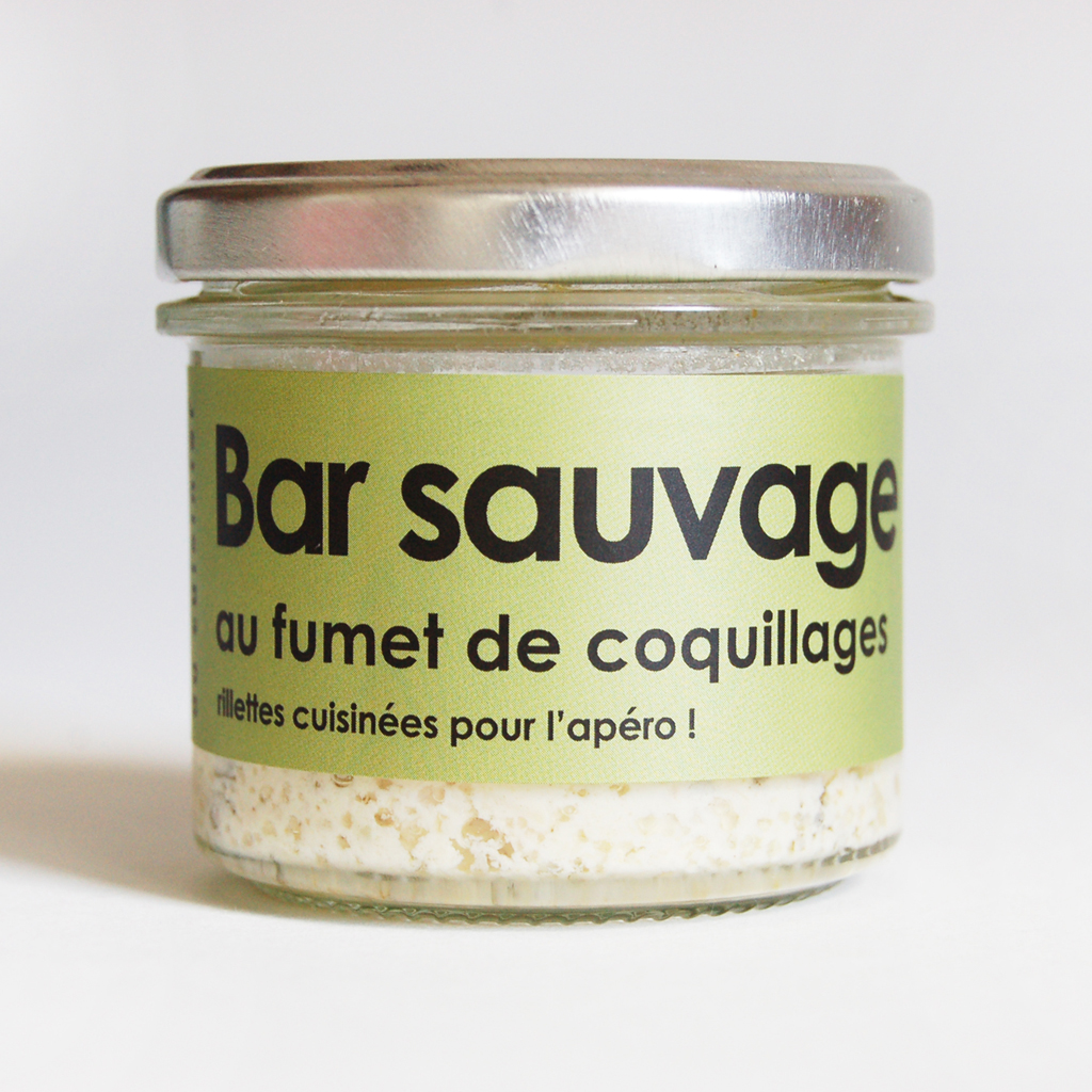 Bar sauvage au fumet de coquillage 80g