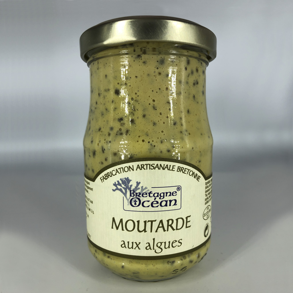 Moutarde aux algues (200g)