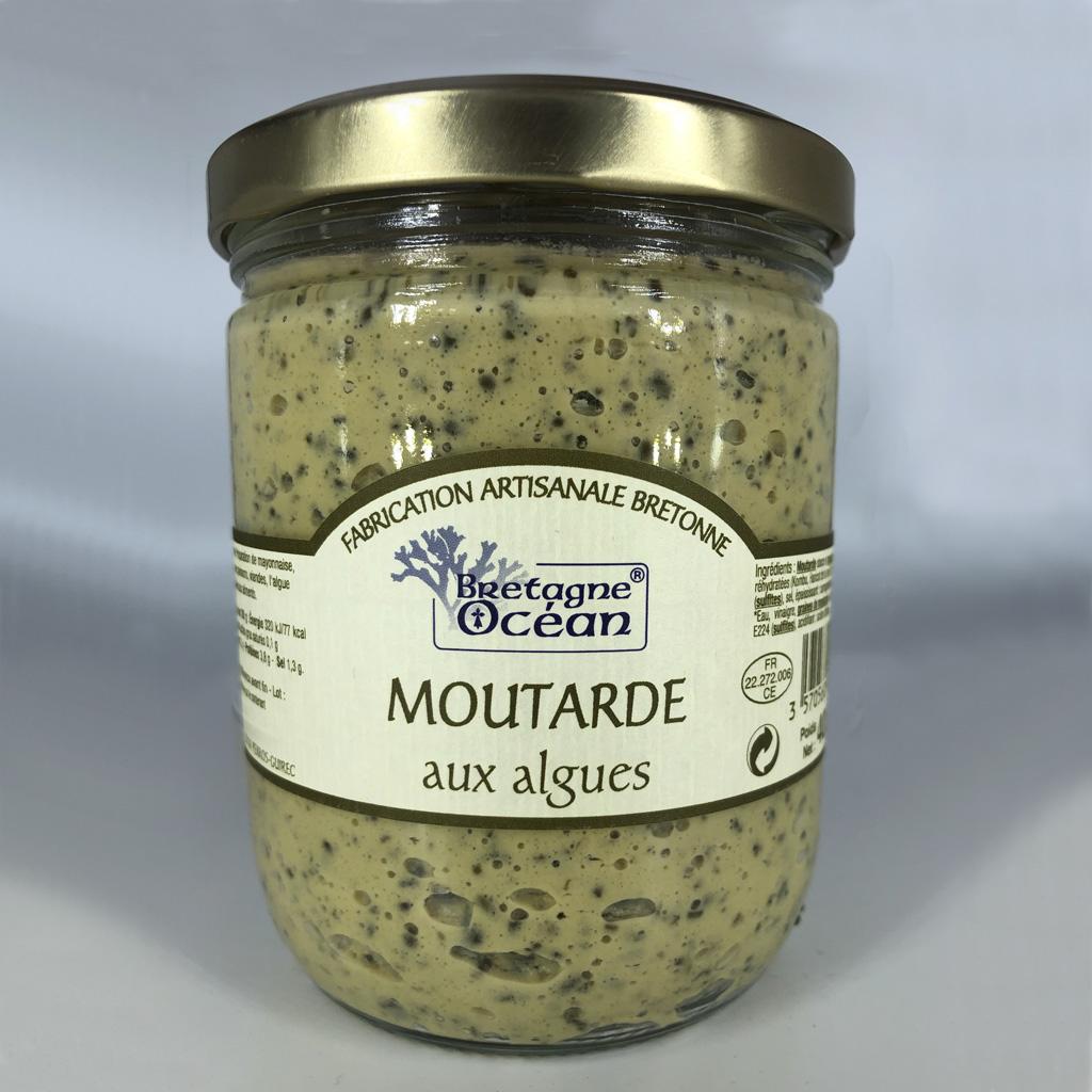 Moutarde aux algues (400g)
