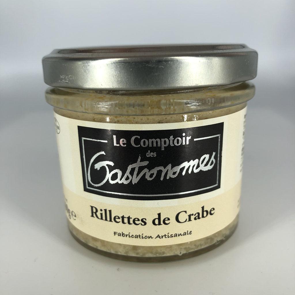 Rillettes de crabe (Gastronomes)