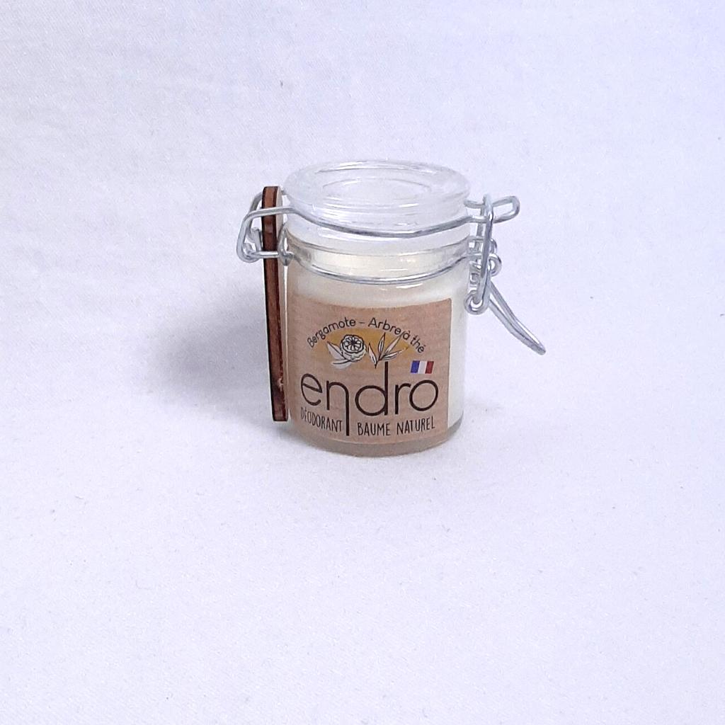 Déodorant baume – Bergamote & Arbre à thé