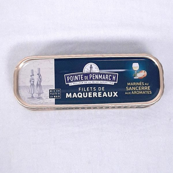 Filets de maquereaux au Sancerre et aromates