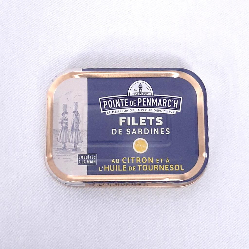 Filets de Sardines au citron PP