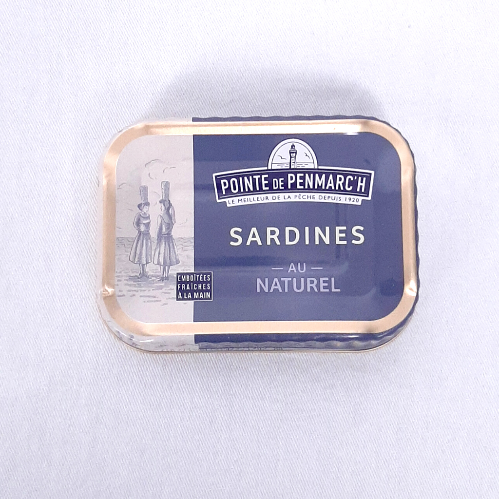 Sardines au naturel PP