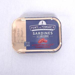 Sardines et confiterelles
