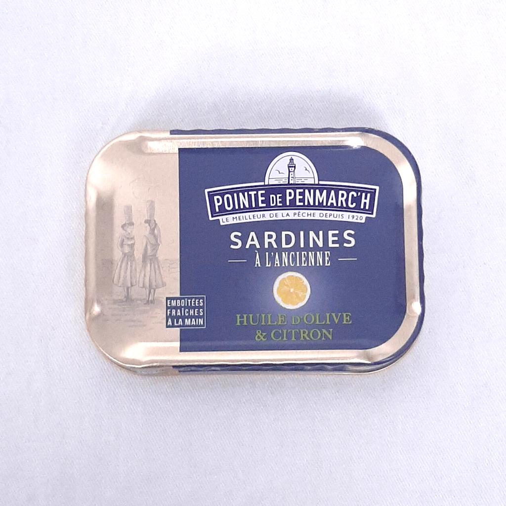 Sardines Huile d'Olive & Citron PP