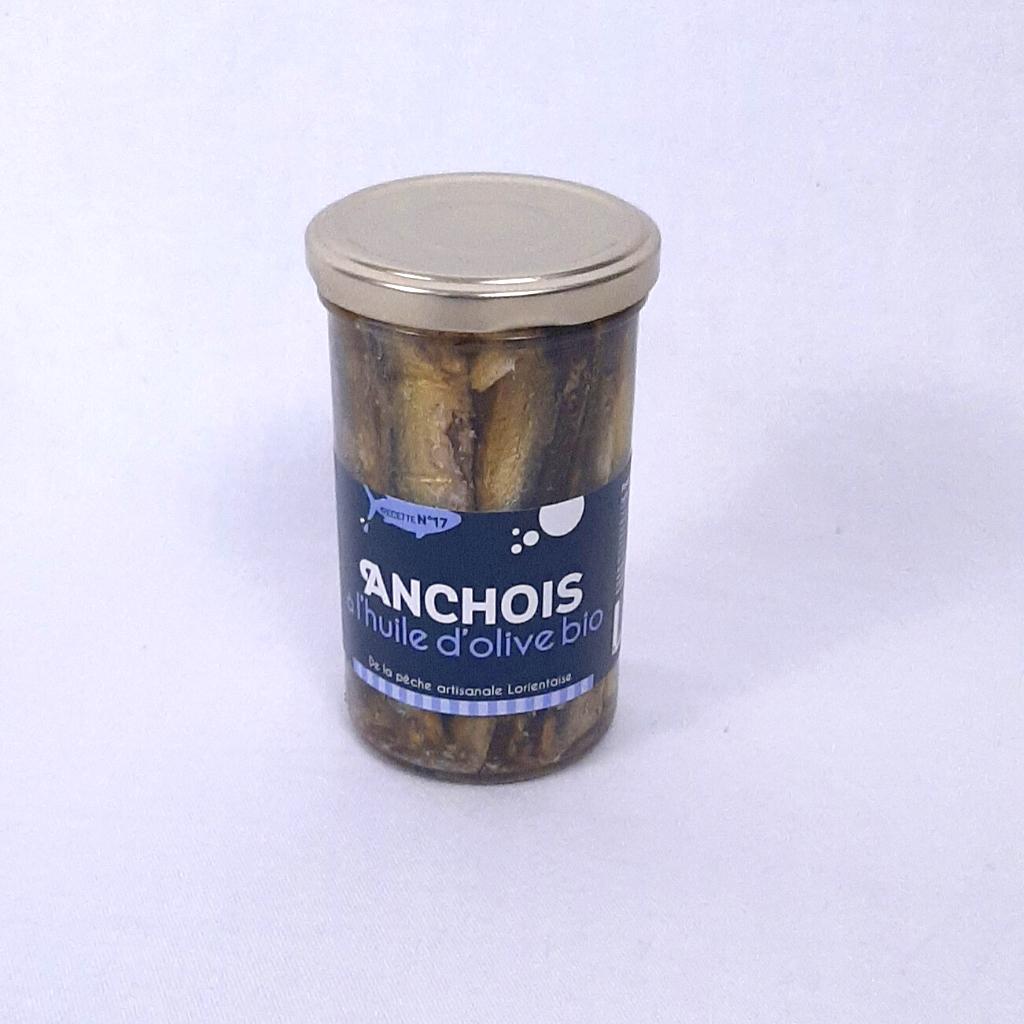 Anchois à l'huile d'olive Bio Conserverie Keroman