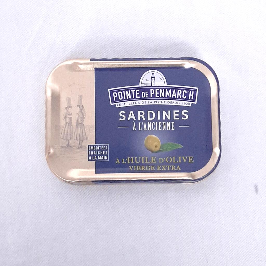 Sardines à l'huile d'olive PP