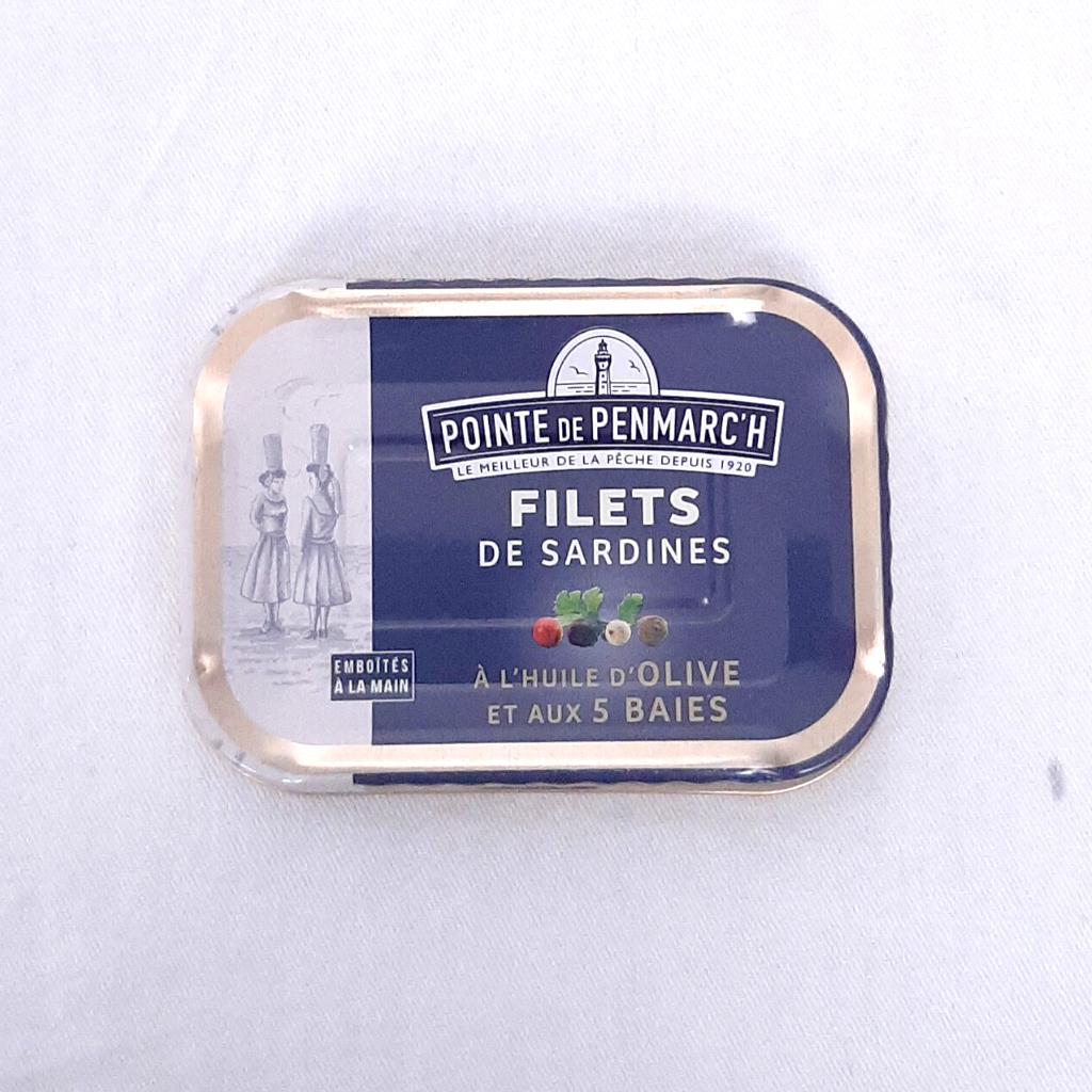Filets de Sardines aux 5 baies PP