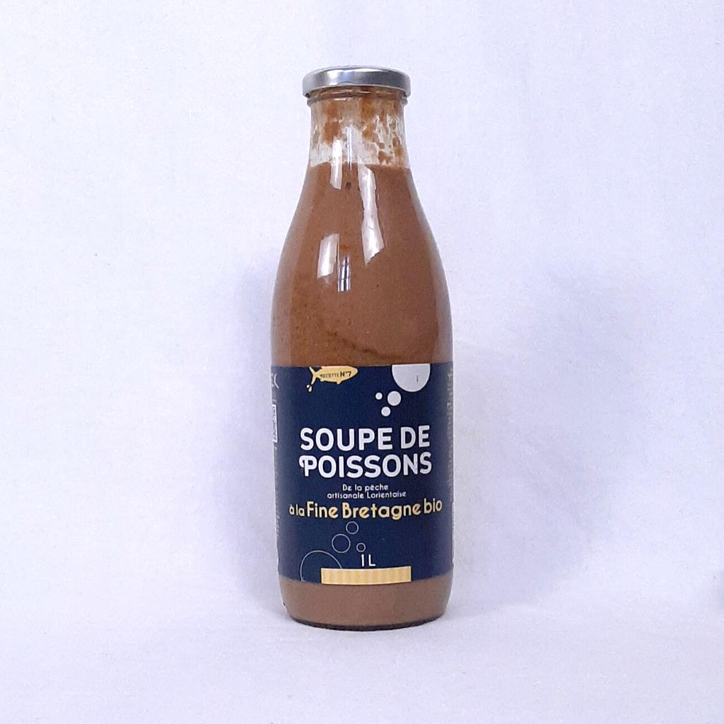 Soupe de Poissons Conserverie Keroman