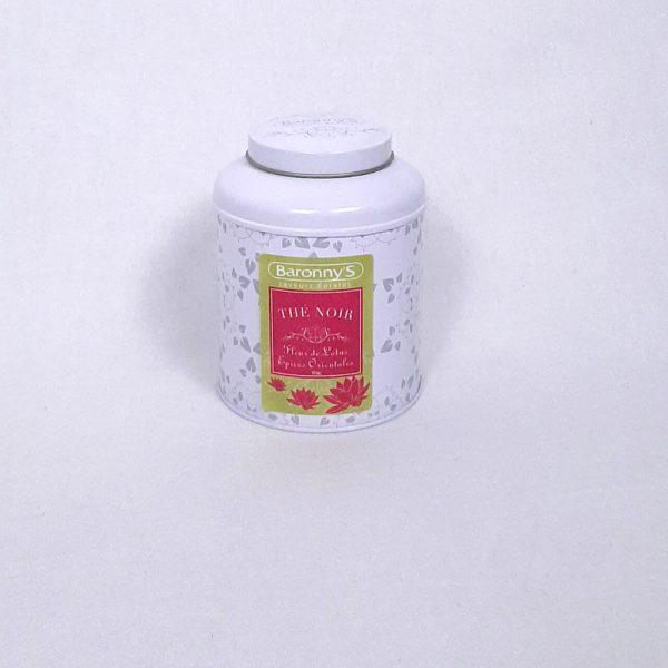 Thé noir lotus et épices orienales