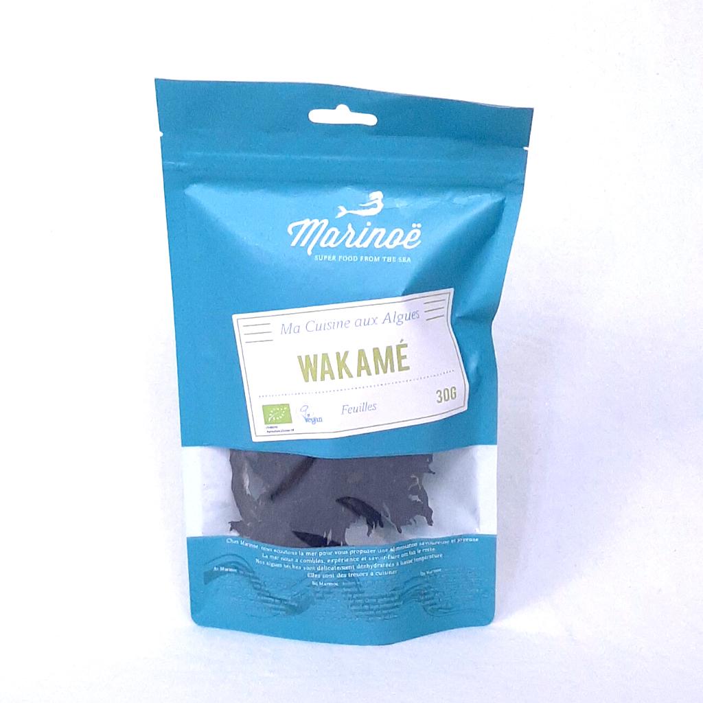 Algues Wakamé Feuilles