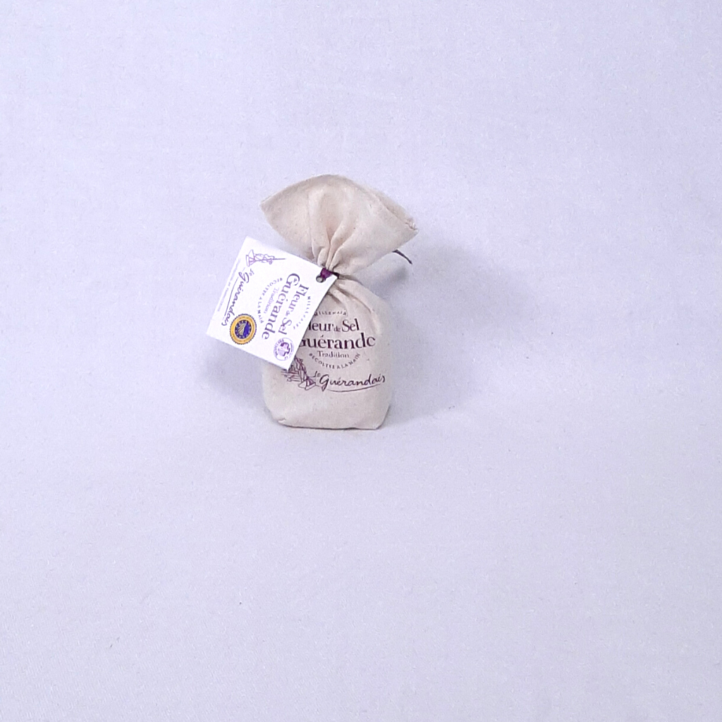 Fleur de Sel de Guérande (Sachet en toile)