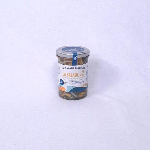 Salade d'algues Haricot de mer, wakame