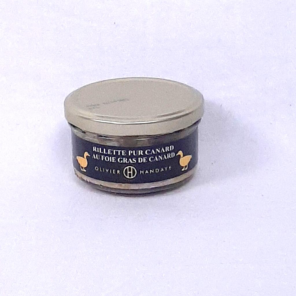 Rillette Pur Canard au foie gras de canard
